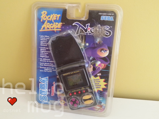 NiGHTS into Dreams Pocket Arcade Game