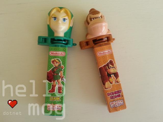 Nintendo Character Klik Pez Dispensers