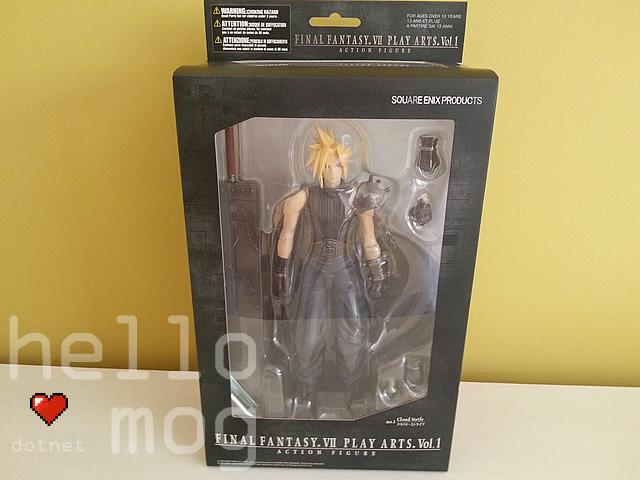 Final Fantasy VII Cloud Strife No. 1 Play Arts Action Figure