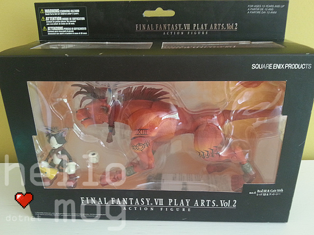 Final Fantasy VII Red XIII & Cait Sith No. 4 Play Arts Action Figure