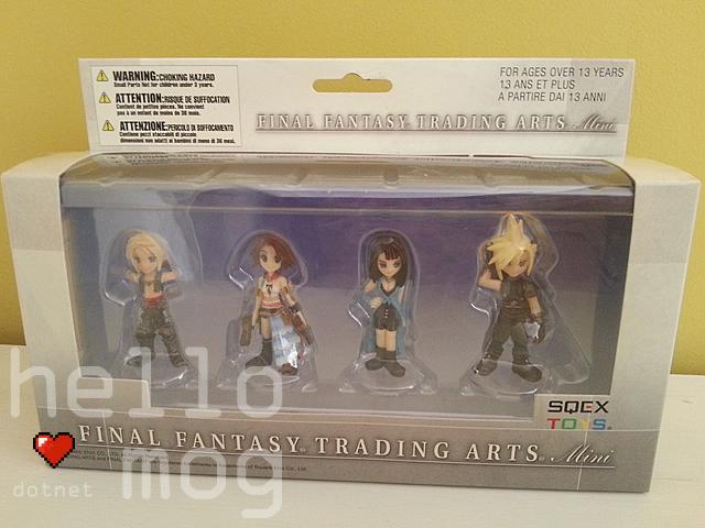 Final Fantasy Trading Arts Mini Figures Vol. 1 Box Set