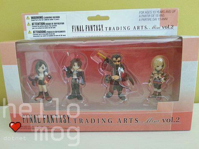 Final Fantasy Trading Arts Mini Figures Vol. 2 Box Set