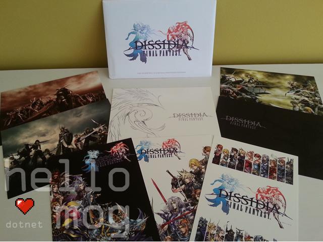 Final Fantasy Dissidia Postcards