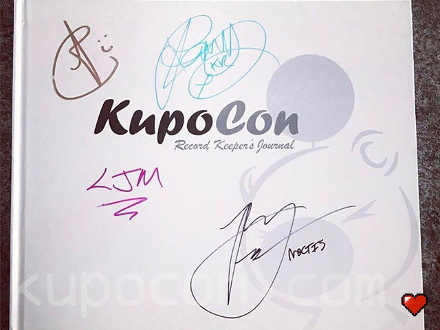 KupoCon Record Keeper's Journal