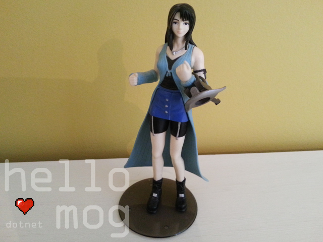 Final Fantasy VIII Rinoa Heartilly Bandai Figure