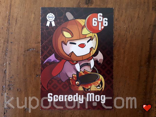 KupoCon TriPom Generation 2.1 Promo Scaredy Mog