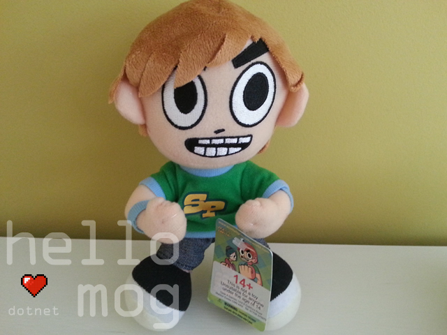 Scott Pilgrim Himself Plush