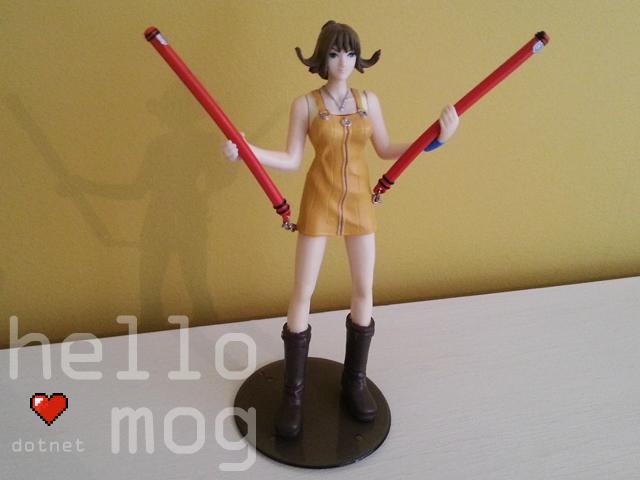 Final Fantasy VIII Selphie Tilmitt Bandai Figure