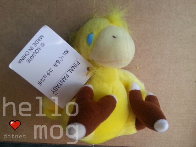 Final Fantasy X Chocobo Mascot Plush