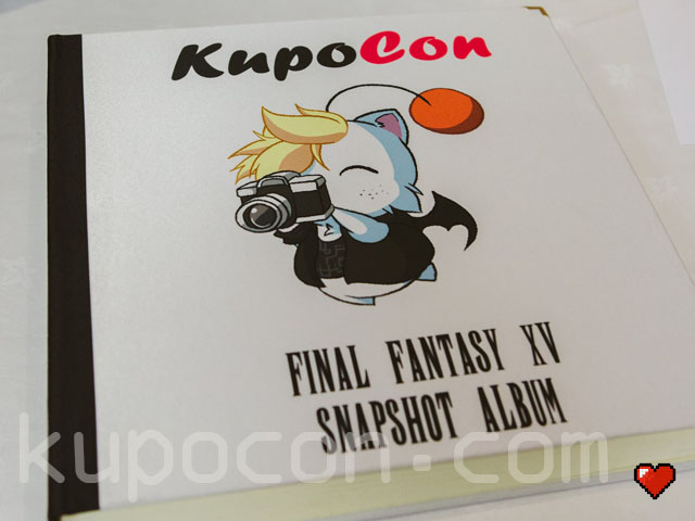 KupoCon Final Fantasy XV Snapshot Album