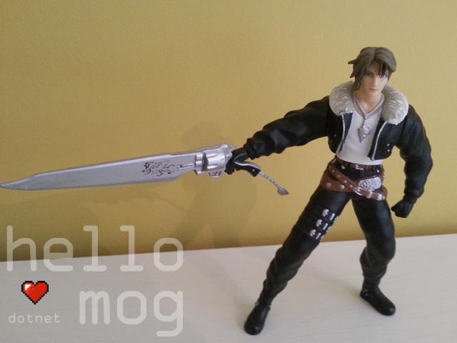 Final Fantasy VIII Squall Leonhart Bandai Figure
