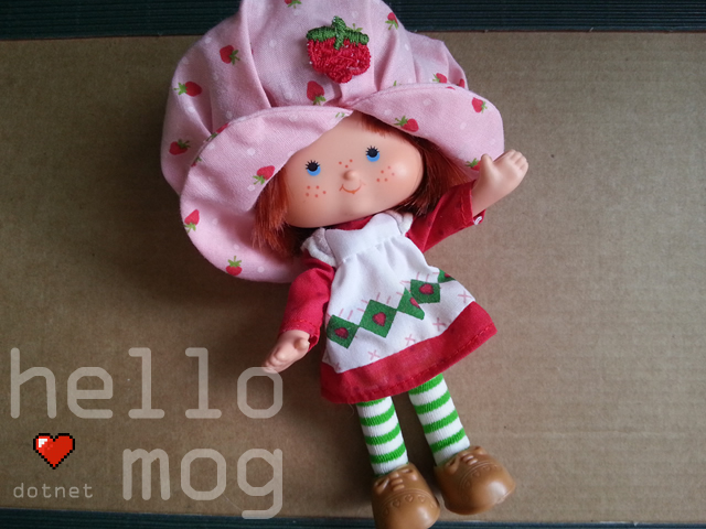 Strawberry Shortcake Herself First Issue Doll