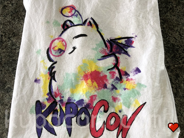 KupoCon T-Shirt Volunteer Pomingham Palace