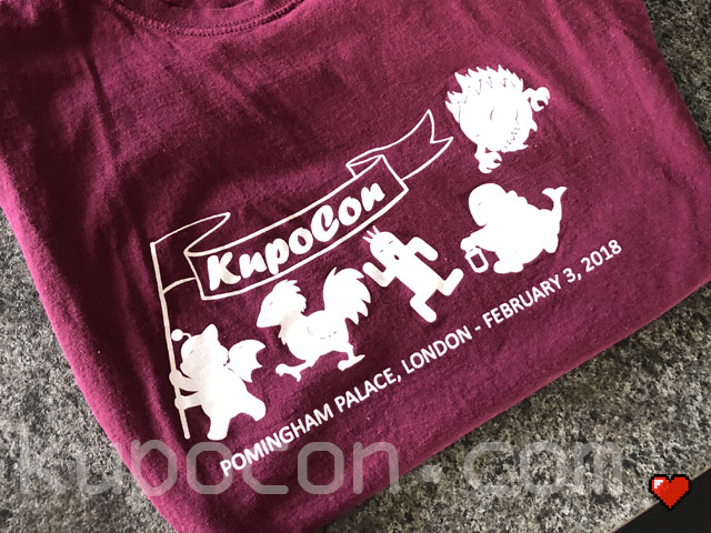 KupoCon T-Shirt Pomingham Palace