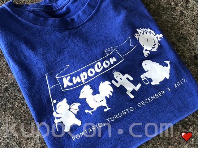 KupoCon T-Shirt Pomtario