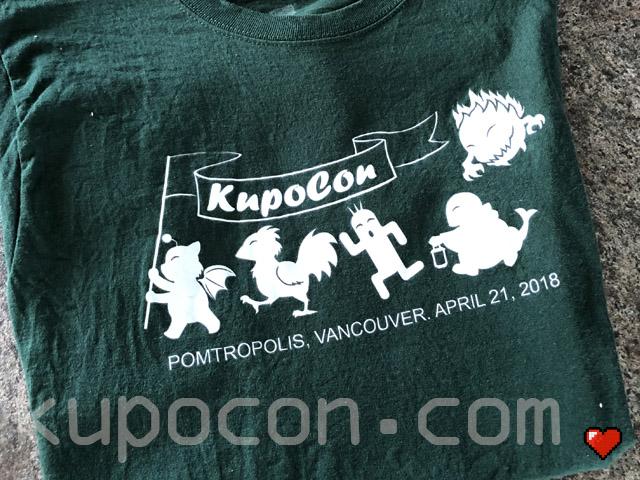 KupoCon T-Shirt Pomtropolis