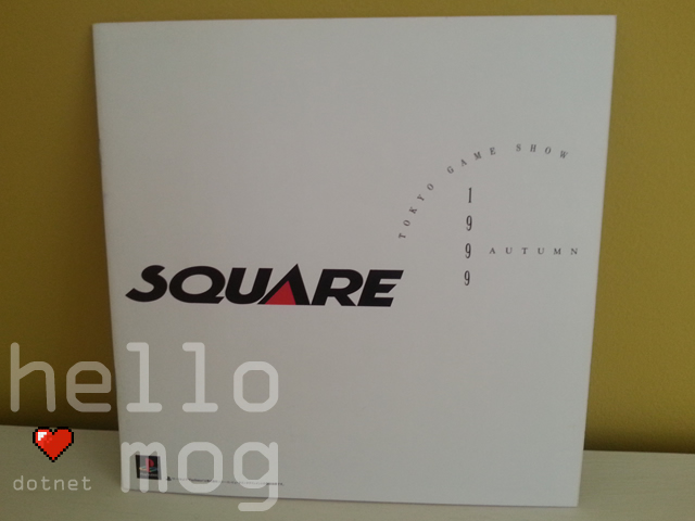 Tokyo Game Show 1999 Square Japanese Brochure