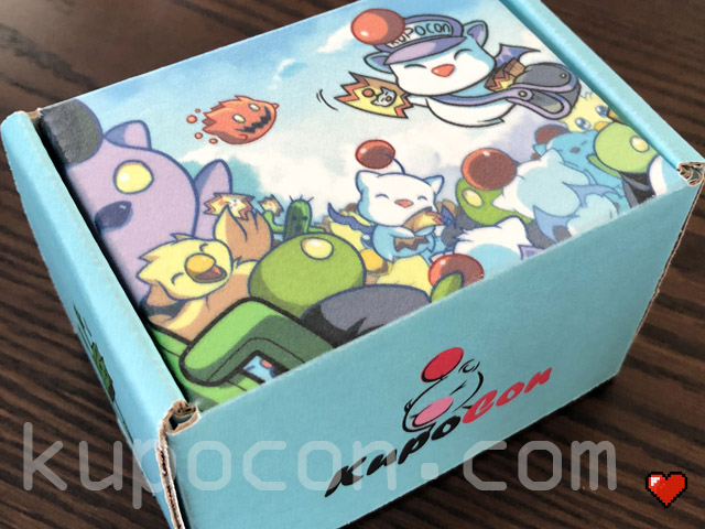 KupoCon TriPom Generation 1 Card Box