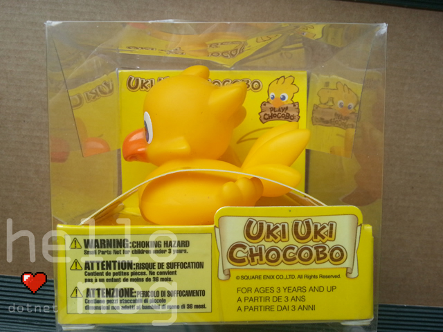 Final Fantasy Uki Uki Chocobo