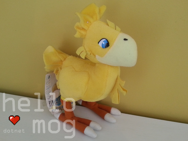 Final Fantasy VII Yellow Chocobo Plush
