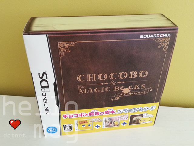 Chocobo & The Magic Books DS