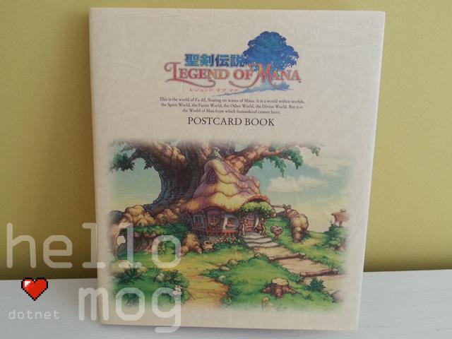 Legend of Mana Seiken Densetsu Postcard Book