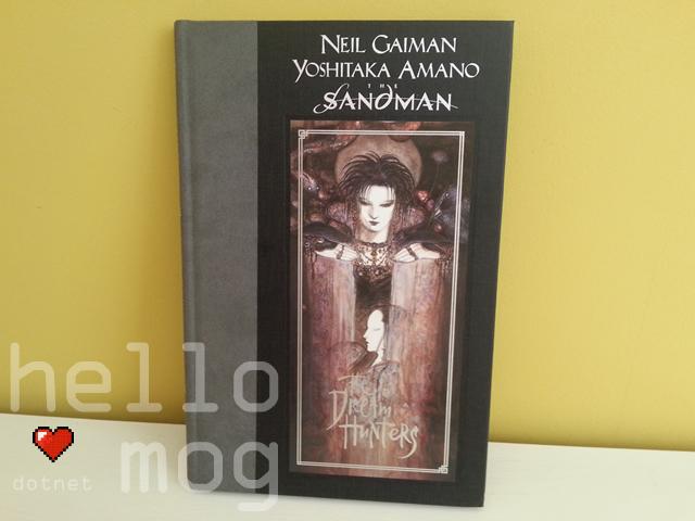 The Sandman: The Dream Hunters Hardback Book Signed Yoshitaka Amano & Neil Gaiman