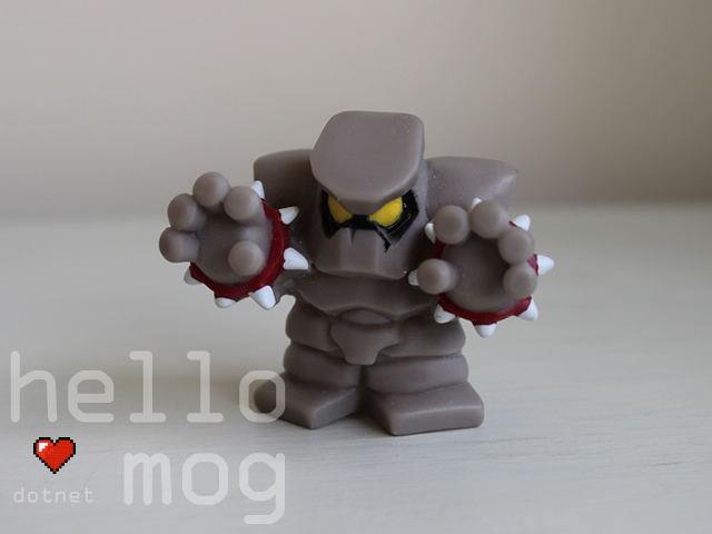 Chocobo's Dungeon 2 Golem Candy Figure Series 2