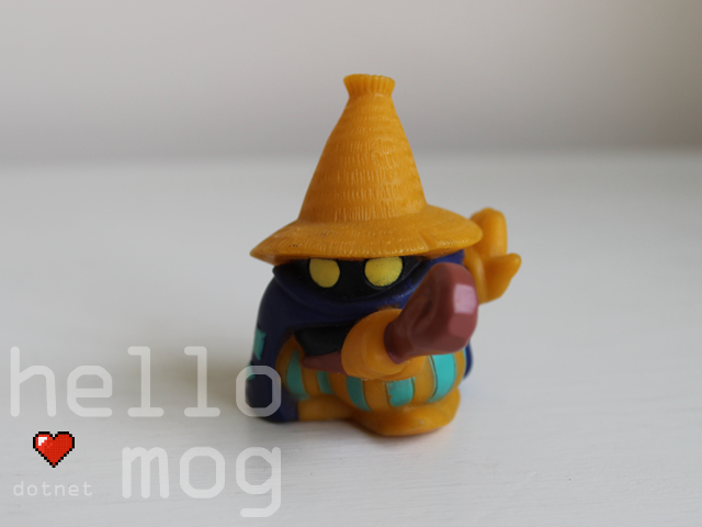 Chocobo's Dungeon 2 Black Mage Candy Figure Series 2