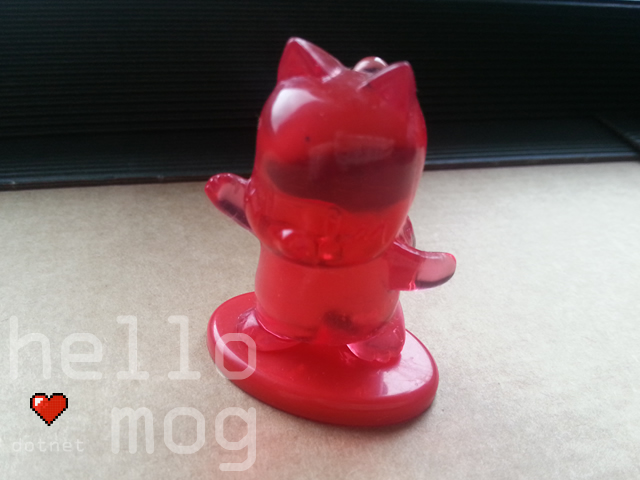 Final Fantasy Mog Crystal 18 Coca Cola Figure