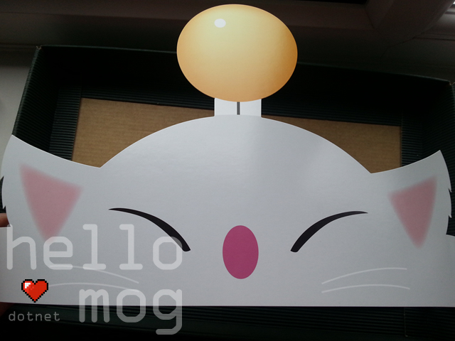 Final Fantasy XIV: A Realm Reborn Moogle Headband