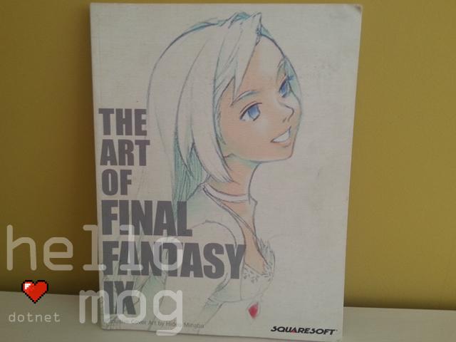 The Art of Final Fantasy IX Book