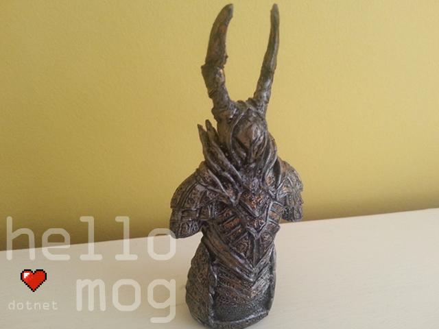 Dark Souls Black Knight Mini Bust Statue