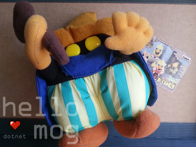 Chocobo's Dungeon Black Mage Plush
