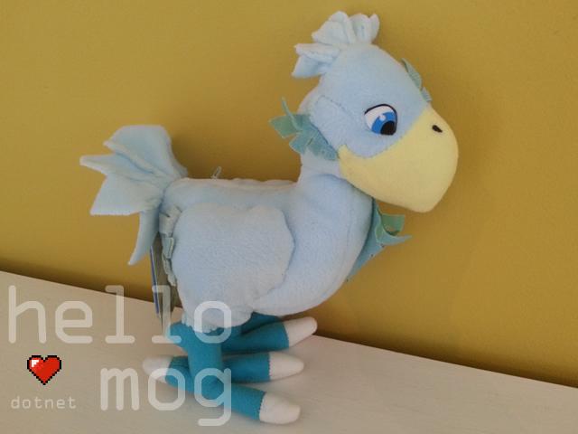 Final Fantasy VII Blue Chocobo Plush