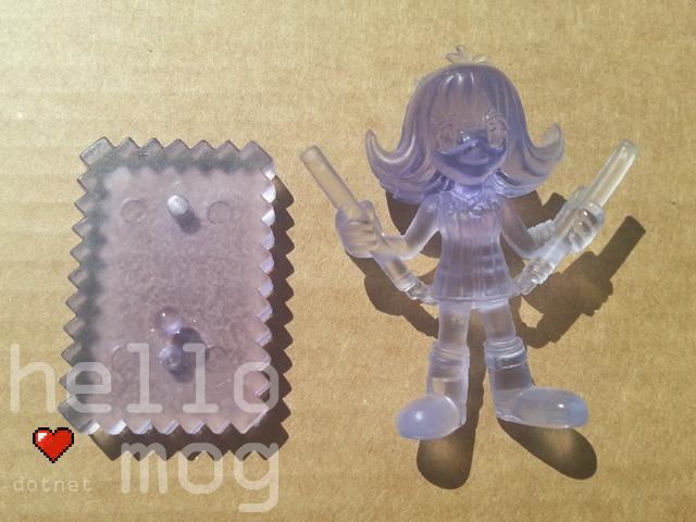 Final Fantasy VIII Selphie Purple Candy Figure