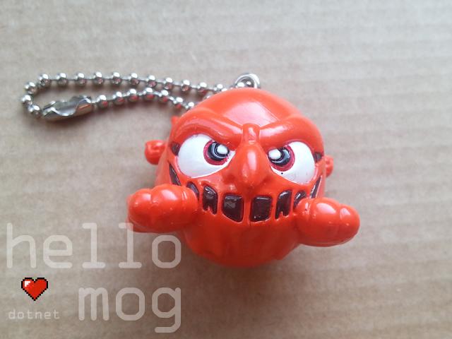 Chocobo's Dungeon 2 Mrs Bomb Character Keychain