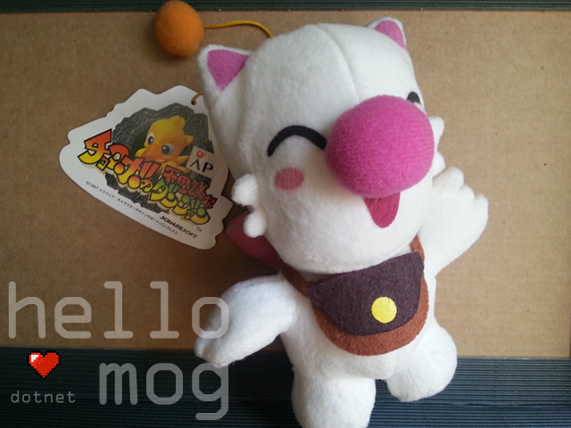 Chocobo's Dungeon Mog Plush