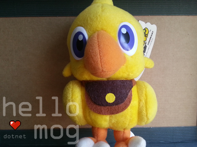 Chocobo's Dungeon Chocobo Plush