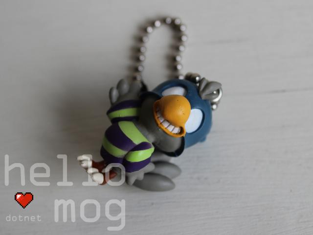 Chocobo Tales Jail Bird Charm Keychain