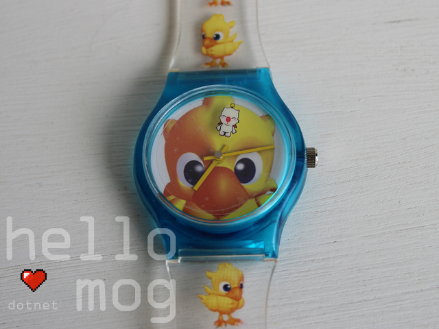 Chocobo and Moogle Wrist Watch