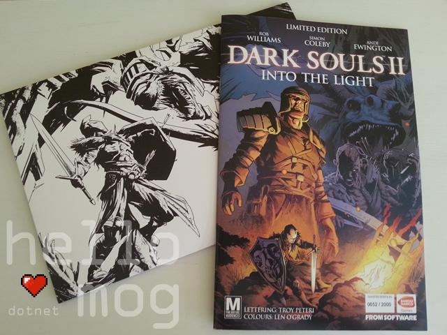 Dark Souls II Into the Light Comic Signed Rob Williams, Andi Ewington & Simon Coleby