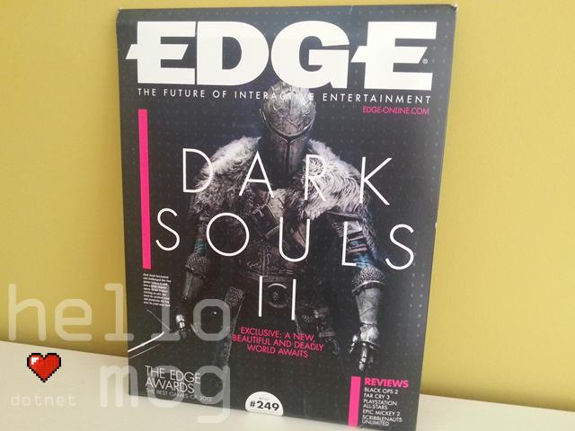 Edge Magazine #249 Dark Souls II Feature Issue