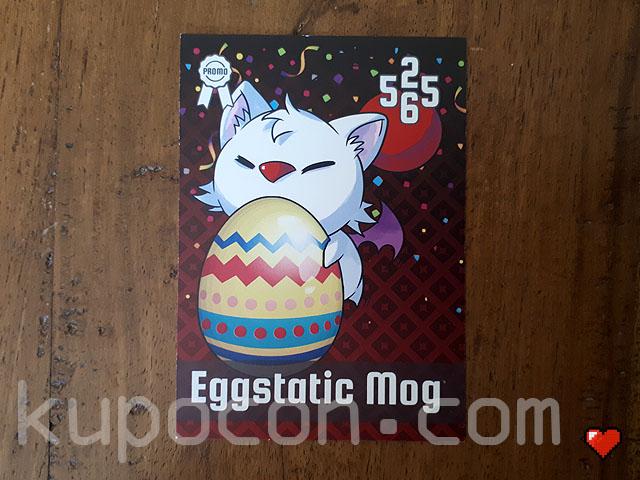 KupoCon TriPom Generation 2 Promo Eggstatic Mog