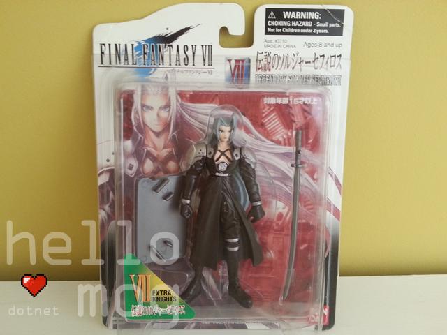 Final Fantasy VII American Sephiroth Extra Knights Figure