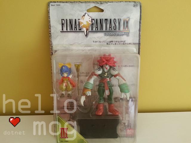 Final Fantasy IX Eiko and Amarant Bandai Figures