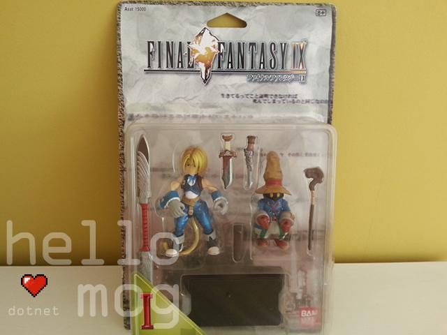 Final Fantasy IX Zidane and Vivi Bandai Figures