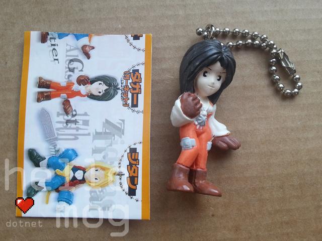 Final Fantasy IX Garnet Keychain