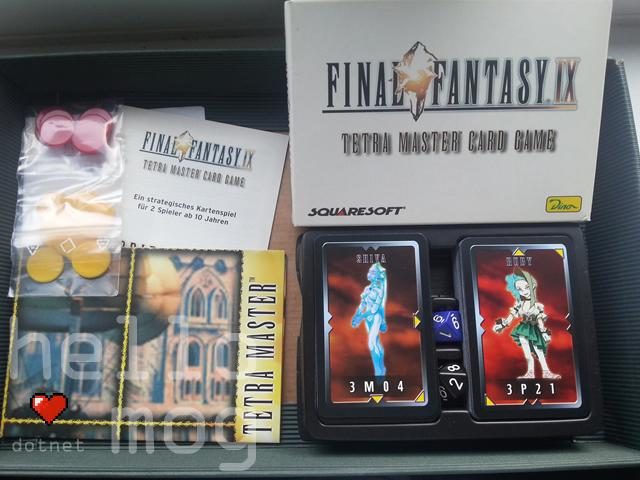 Final Fantasy IX Tetra Master Card Game