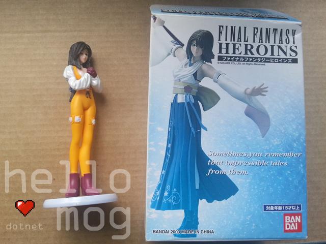 Final Fantasy Heroins Garnet Figure